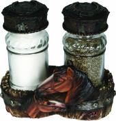 Rivers Edge Horse Salt & Pepper Shaker Set