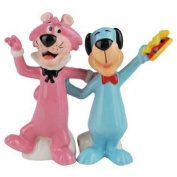 Westland Giftware Huckleberry Hound and Snagglepuss Salt and Pepper Shakers
