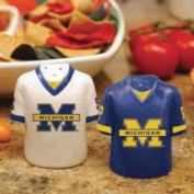The Memory Company Col-mh-612 Michigan Gameday Salt and Pepper Shakers