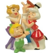 Westland Giftware The Jetsons Magnetic The Jetsons Magnetic Family Salt and Pepper Shaker Set, 10.8cm