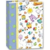 10.2cm x15.2cm Mini Baby Photo Album with Lots of Toys Designed on Cover for 36
