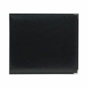 We R Memory Keepers Black Classic Leather 8x8 Ring Album
