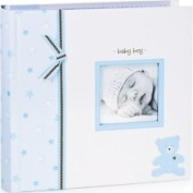 L'il Peach by Pearhead Bear Photo Album Blue