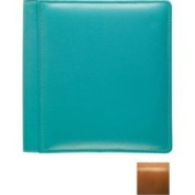 Roma Tan 102 Smooth Grain Leather 2-Up Album by Raika