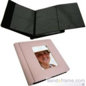 Soft Pink Photo Album with Fold-Out Pages by Raika