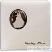 Wedding Post-Bound Pocket Album for 5x7 Prints and Scrapbook Pages by Pioneer