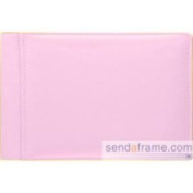 Rodeo Baby Pink 136 Pebble Grain Leather 1-up 6x4 Album by Raika