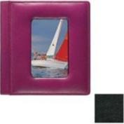 Raika VI 169 Blk 10.2cm . x 15.2cm . Framed-Front Photo Album Single - Black
