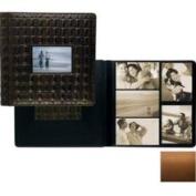 Raika SF 113-F Tan Frame Front Single Page Album - Tan