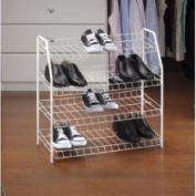 Kennedy Home Collections 4 Tier Design Multipurpose Shoe Rack