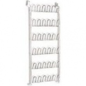 Kennedy Home Collections Over The Door Shoe Rack in White