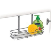 Lynk 601200DS Over Cabinet Door Organiser, Single Shelf with Moulded Tray, Chrome