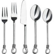 Twist 20 Piece Flatware Set | Handmade Flatware | Gourmet Settings