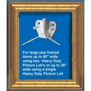 Safe Hold Large Security Picture Hangers Picture Hanger Clips