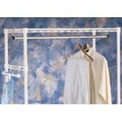 Intermetro AT36NC Metro Clothes Hanger Rod w/ Brackets - 36