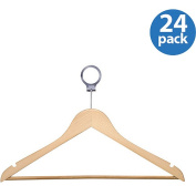 Honey Can Do HNG-01733 Maple Hotel Suit Hangers