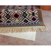 5' x 8' Area Rug Pad Polyester with Water Based Adhesive