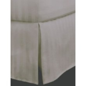 Charter Club Damask Stripe 500 Thread Count Bedskirt, Twin