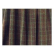 Wooded River Cabin Bear Gathered Bedskirt Size