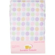 Luvable Friends Fitted Crib Sheet