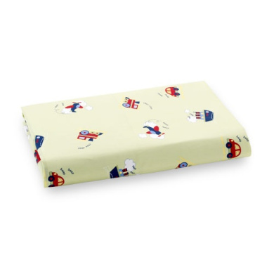 Bedtime Originals Travel Time Crib Fitted Sheet