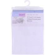 Triboro Just Born Crib Sheet 100 Cotton Print