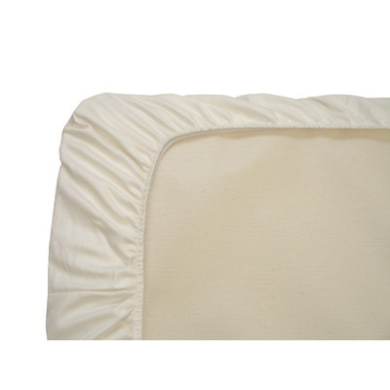 Naturepedic Organic Cotton Sheets Style: Portacrib (Fitted) in Ivory