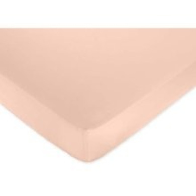 Annabel Peach Fitted Sheet