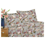 Textiles Plus Inc. Jersey Sheet Set in Floral Tanya Size