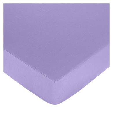 JoJo Designs Pretty Pony Collection Fitted Crib Sheet - Solid Purple