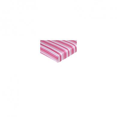 JoJo Designs Olivia Fitted Stripe Print Crib Sheet
