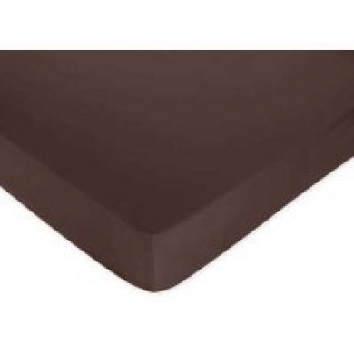 JoJo Designs Starry Night Fitted Crib Sheet in Chocolate