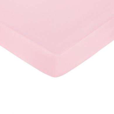 JoJo Designs Elephant Pink Collection Crib Sheet - Pink