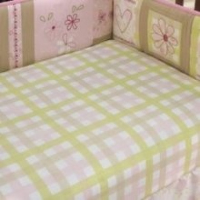 Laura Ashley Love Fitted Crib Sheet Pink Size Crib Sheets