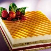 PCB Textured 3D Sheet for Cakes 36.8cm x 57.2cm Wavy Elegance Design