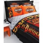 Harley-Davidson Flame Rider Sheet Set