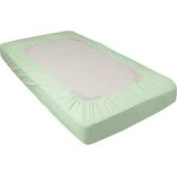 Set of Six SafeFit Elastic Fitted Crib Sheets - Compact