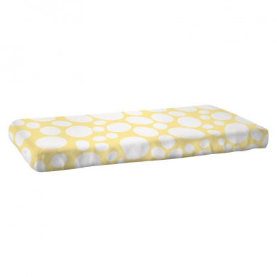Nook Sleep System Fitted Crib Sheet in Riverbed Daffodil