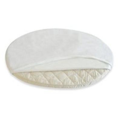 Stokke Crib Sleepi Protection Sheet Oval Sheet in White