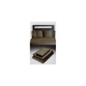 Home Source International 50500QNO55 - Bamboo Queen Flat Sheet Sable 100% Bamboo Colour