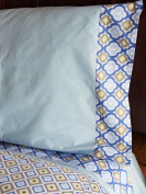 Caden Lane Ikat Boy Sheet Set Size