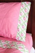 Caden Lane Boutique Pink Twin Sheet Set