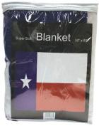 Texas State Flag Print Fleece Blanket | GFLGBTX