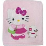 Bedtime Originals Bedtime Original Hello Kitty & Puppy Blanket