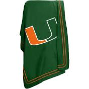 Logo Blanket. Miami Classic Fleece Blanket 16923