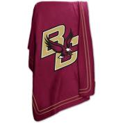 Logo Chair Boston College Golden Eagles NCAA Classic Fleece Blanket