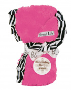 Trend Lab 102190 Receiving Blanket -Ruffle Trimmed Zahara