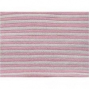 Pickles Baby Pink Blossom Garden Stripe Baby Blanket