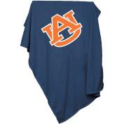 Auburn University Blue Polyester Sweatshirt Blanket