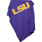 Logo Chair 162-74 Louisiana State University Sweatshirt Blanket